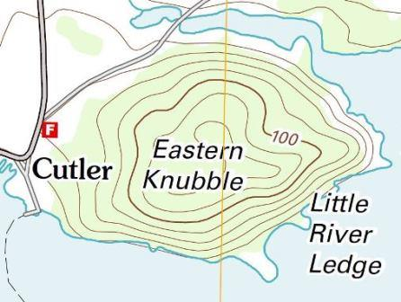 Eastern Knubble Map