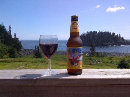Touch Decisions - Wine or Beer on the Maine Coast